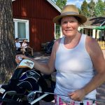 Susanne gjorde hole in one